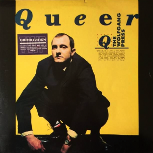 "Wolfgang Press (The) - Queer (LP + 12"") (VG-EX/VG-)"
